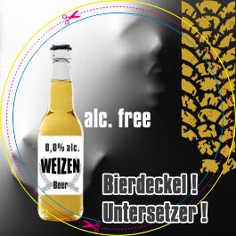 Bierdeckel, Untersetzer, flyerole.de