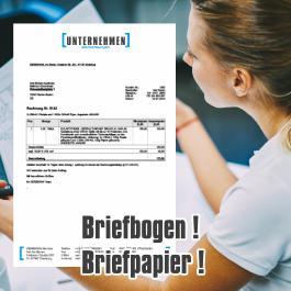Briefbogen, Briefpapier, flyerole.de