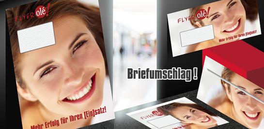 Briefumschläge für DIN-A4, DIN-A5, DIN-Lang flyerole.de